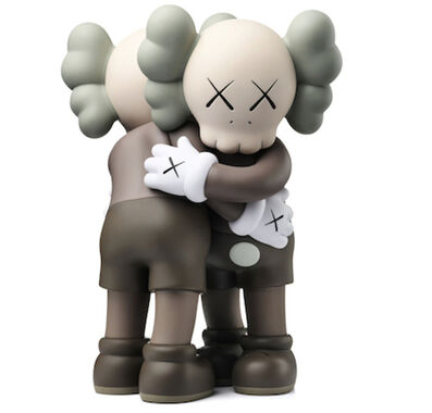 KAWS, 'Open Together (Brown)', 2018