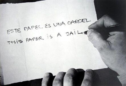Horacio Zabala, 'Este papel es una cárcel', 1972-2007