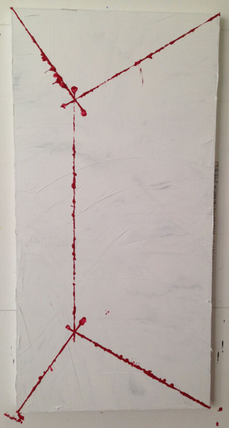 G.T. Pellizzi, 'Projections in Red (Fig. 7)', 2015