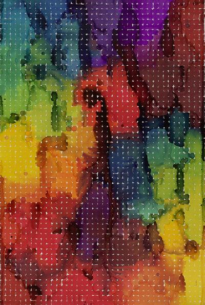 Martin Kline, 'Spectrum for Ellsworth (Liquid Grid #98)', 1998