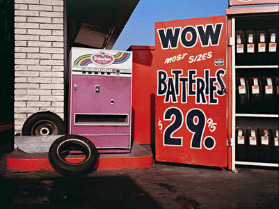 Mark Chamberlain, 'Wow Batteries', 1980