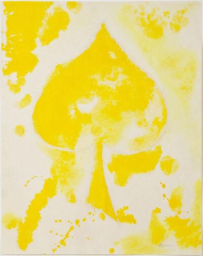 David Hammons, 'Untitled (yellow spade)', 1975