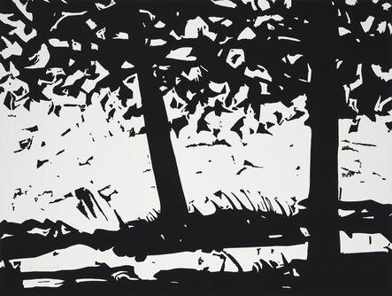 Alex Katz, 'Maine Woods 1', 2013