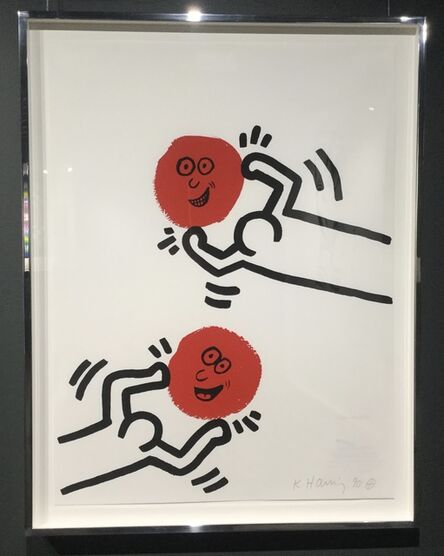 Keith Haring, 'The Story of Red and Blue (No. 11)'