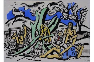 Fernand Léger, 'La Partie de Campagne 2', 1960