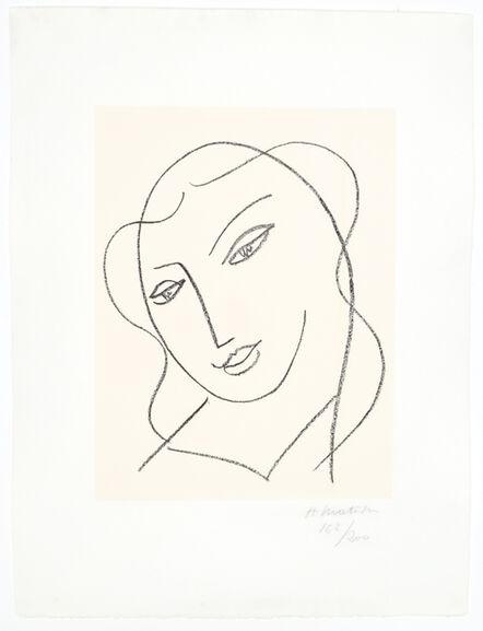 """Henri Matisse, 'Etude pour la Vierge, """"Tête voilée""""', 1950-1951"""