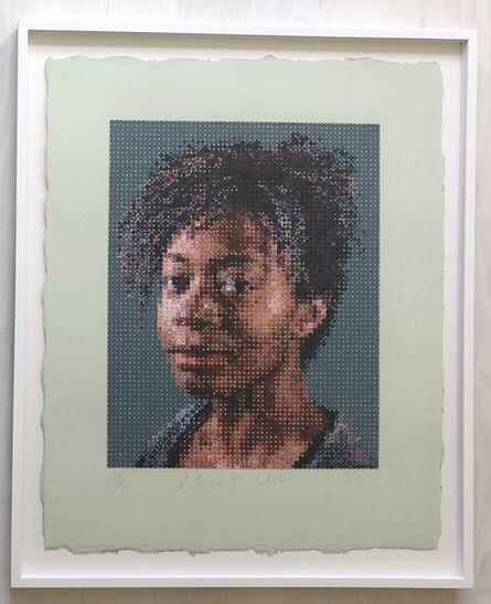Chuck Close, 'Kara Walker', 2012