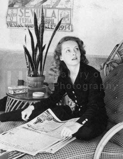 Alfred Eisenstaedt, 'Bette Davis, Hollywood, California', 1938