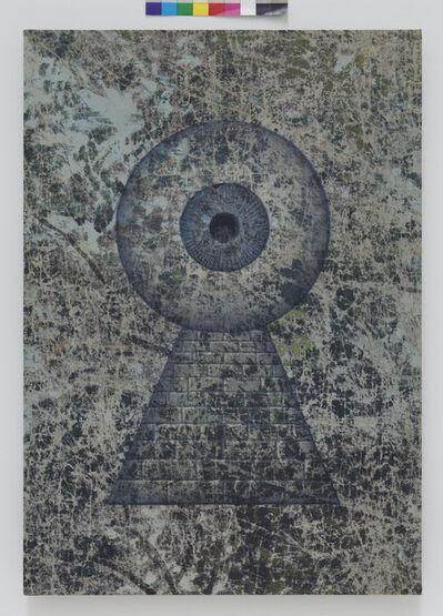 Jim Shaw, 'All-seeing Keyhole Eye', 2013