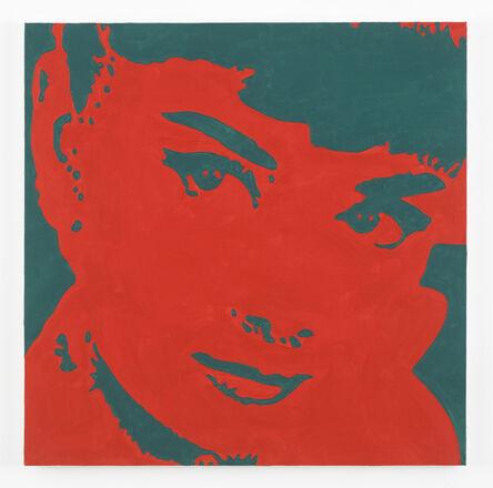 Merlin Carpenter, 'Audrey Hepburn', 2014