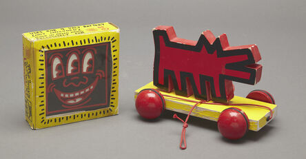 Keith Haring, 'AM-FM Radio', ca. 1985
