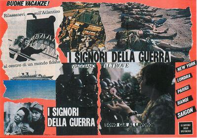 Eugenio Miccini, 'Senza titolo (I signori della guerra)', 1968