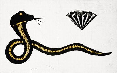 Donald Baechler, 'Diamond Snake by Donald Baechler', 2007