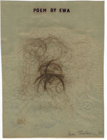 Ewa Partum, 'Poem by Ewa', 1981