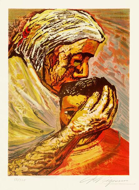 David Alfaro Siqueiros, 'Mother Love', 1969