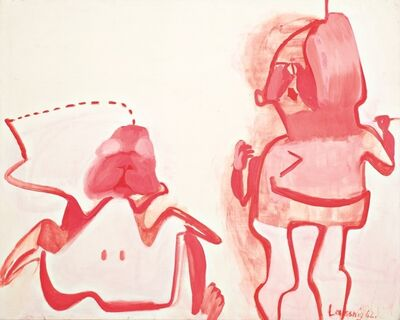 Maria Lassnig, 'Hasenbild', 1961-1962