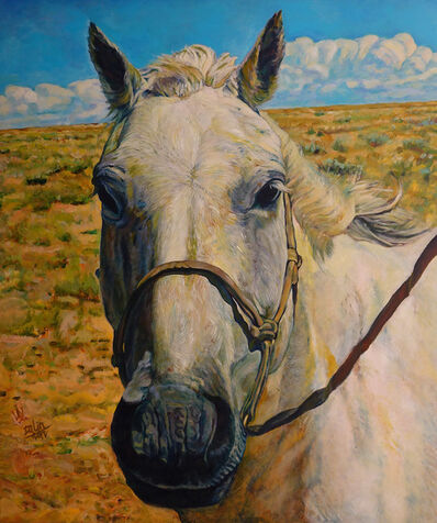 Wang Dalin, 'White Horse I', 2012