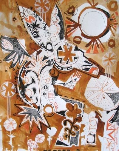 Mark T. Smith, 'Rabbit Sketch Sepia', 2009