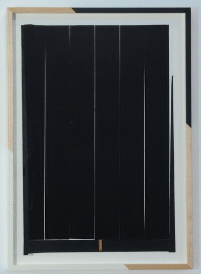 Jim Lee, 'Untitled (Cream Gap and Black)', 2014