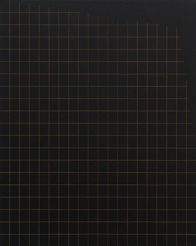 Valdirlei Dias Nunes, 'Sem título (grade com recorte lateral superior) [Untitled (grid with top side trim)]', 2017