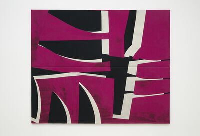 Sarah Crowner, 'Sliced Raspberry (for Tegucigalpa)', 2021