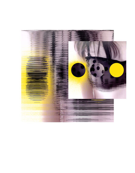 John Pomara, 'Blk Bra-Yello', 2017