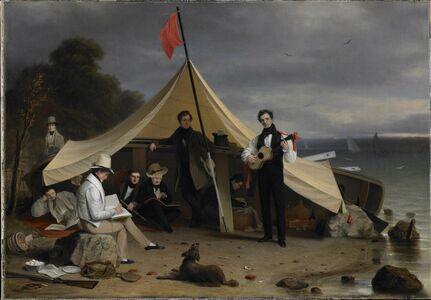 Robert Walter Weir, 'The Greenwich Boat Club', 1833