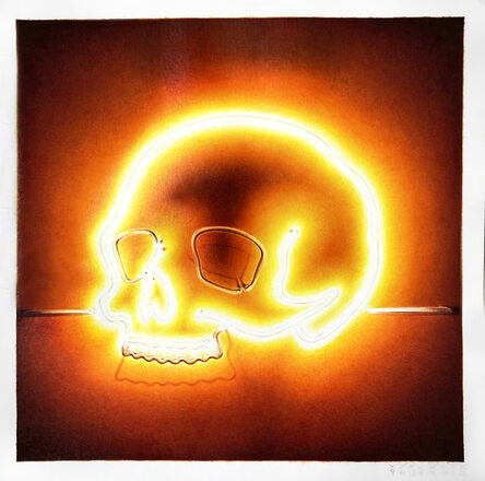 Paolo Amico, 'Sound of Silence - Yellow Skull', 2021