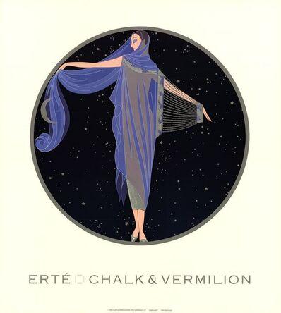Erté (Romain de Tirtoff), 'Moonlight', 1992