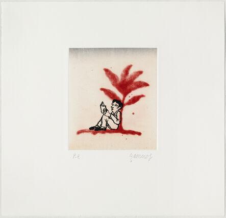 Ramiro Fernandez Saus, 'Red Flower', 2012