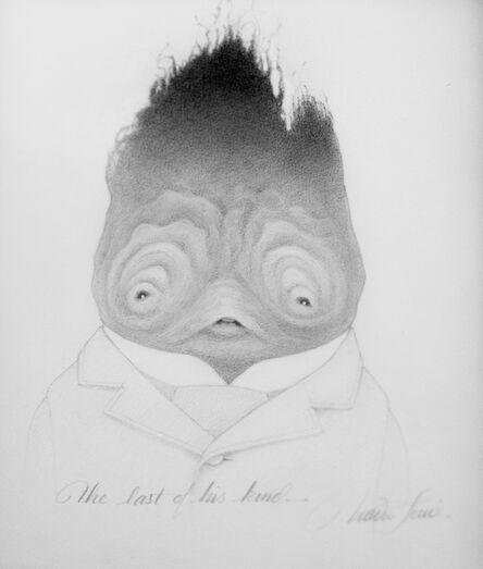 Travis Louie, 'The Last of His Kind Drawing', 2015