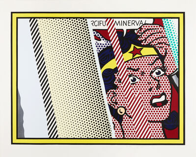 Roy Lichtenstein, 'Reflections on Minerva ', 1990