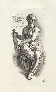 Jan de Bisschop, '[Personification of the art of Sculpture and Painting]', 1731-1741