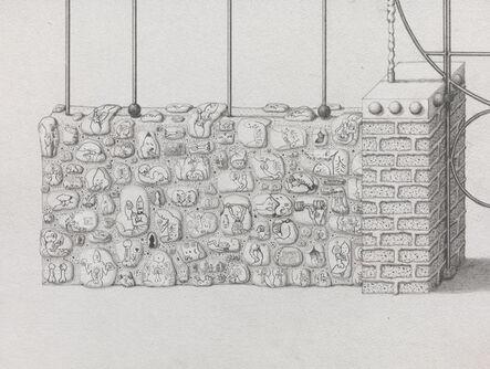 Paul Noble, 'Master Gates (detail)', 2013