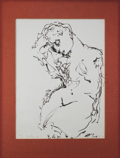 Elaine de Kooning, 'Untitled [Rodin Sculpture]', 1982