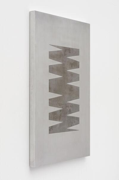 Zak Kitnick, '24 Month Calendar 4 (Mill Steel)', 2020