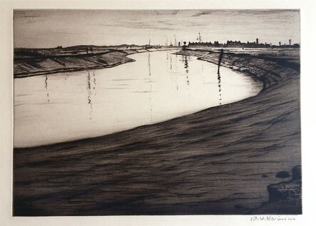 Christopher Richard Wynne Nevinson, 'Ebb Tide (On the Camber)', 1918