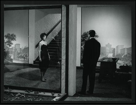 Michelangelo Antonioni, 'La Notte (film still with Monica Vitti & Marcello Mastroianni)', 1961