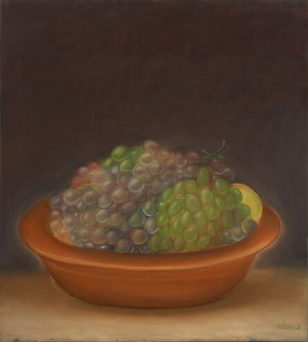 Fernando Botero, 'Still Life with Grapes', 1968