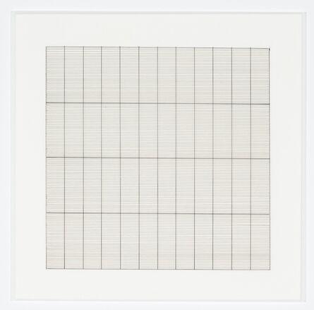 Agnes Martin, 'Untitled (9)', 1991