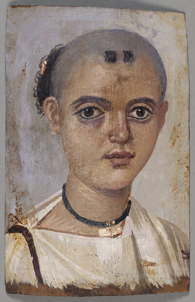 'Mummy Portrait of a Youth', 150 -200