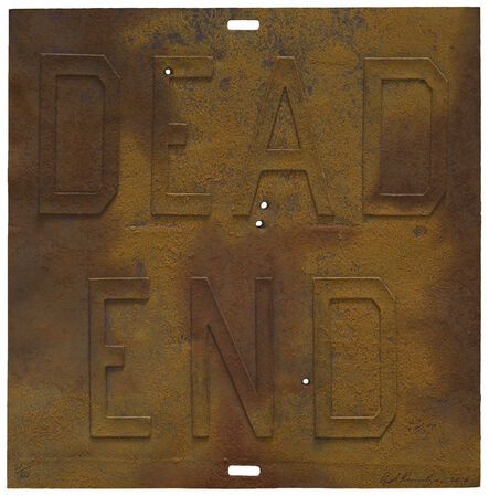 Ed Ruscha, 'RUSTY SIGNS/ For Sale', 2014