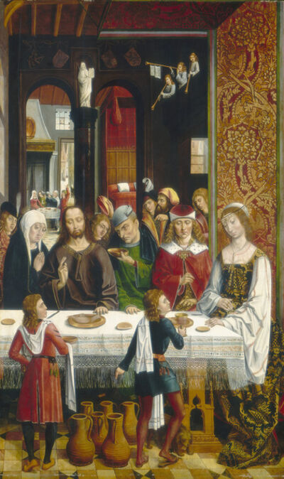 Master of the Catholic Kings, 'The Marriage at Cana', ca. 1495/1497