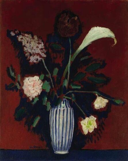 Kees van Dongen, 'Bouquet de fleurs, a l'arum', 1912