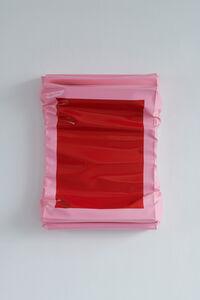 Angela de la Cruz, 'Layers - Small (Red/Brilliant Pink)', 2019