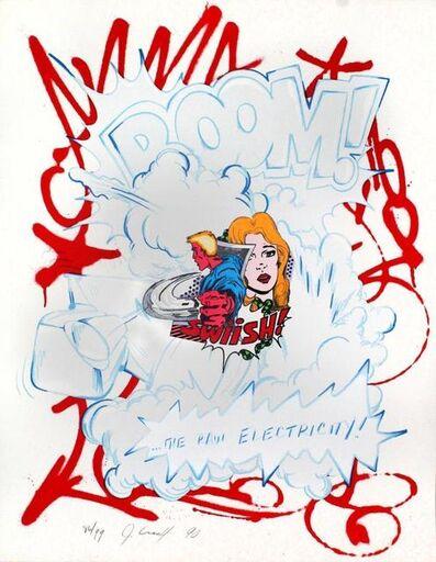 """CRASH (John """"Crash"""" Matos), 'Raw Electricity', 1990"""