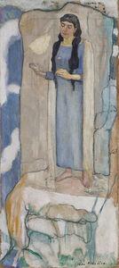 Ferdinand Hodler, 'Was die Blumen sagen', 1894
