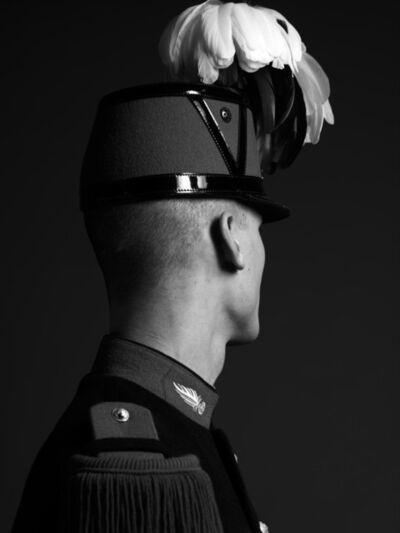 Hedi Slimane, 'Portrait of a French Cadet, St. Cyr March, from the Elton John AIDS Foundation Portfolio', 2009