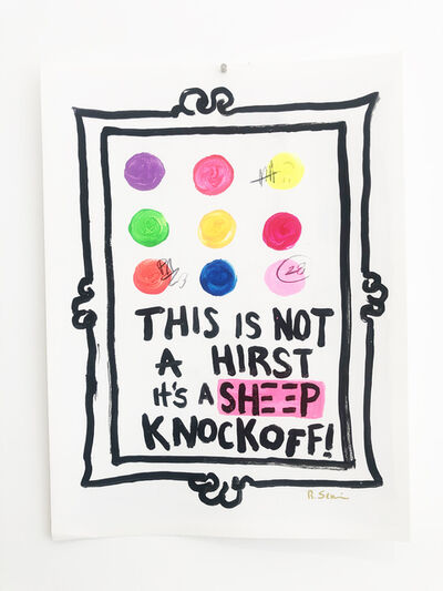Little Ricky, 'It's a Knockoff - Damien Hirst', 2021