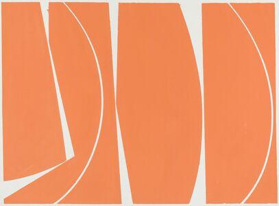 Joanne Freeman, 'Covers 40 Orange', 2017